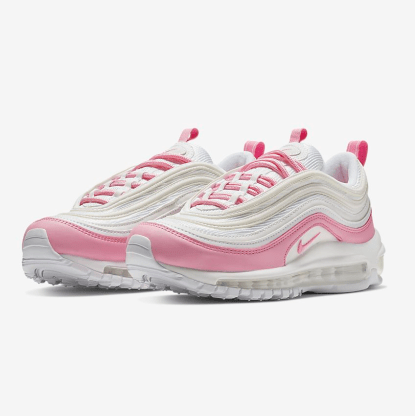 Nike Air Max 97 Essential Shoes - white pink - pair