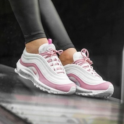 Nike Air Max 97 Essential Shoes - white pink - style