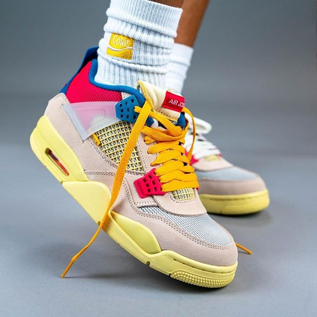 Union x Nike Air Jordan 4 Guava Ice