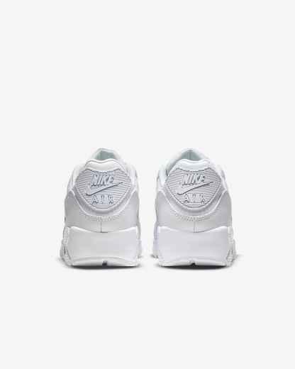 Nike Air Max 90 LTR Shoes - White heels