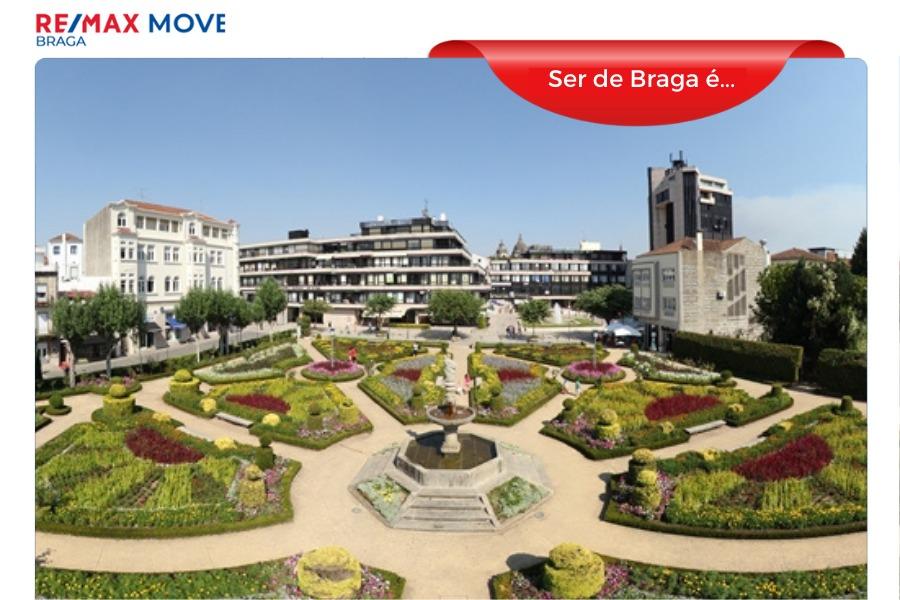 Ser de Braga é… passear no Jardim de Santa Bárbara