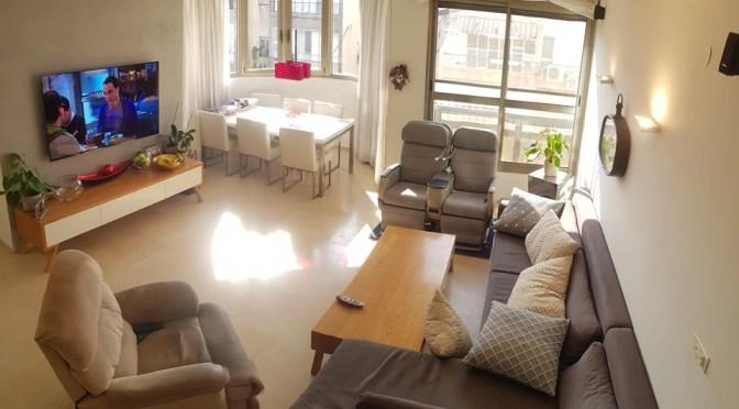 דירת גג 5 חדרים, מעלית וחניה בפיארברג, אגרובנק חולון