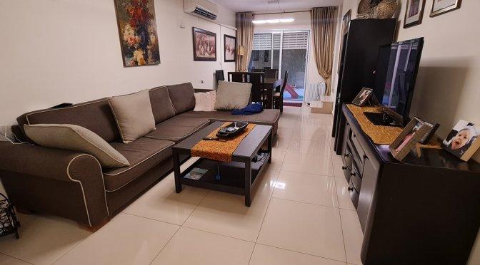 דירת גן, 3 חדרים, משופצת כחדשה ברחוב קראוזה, מרכז העיר, חולון.