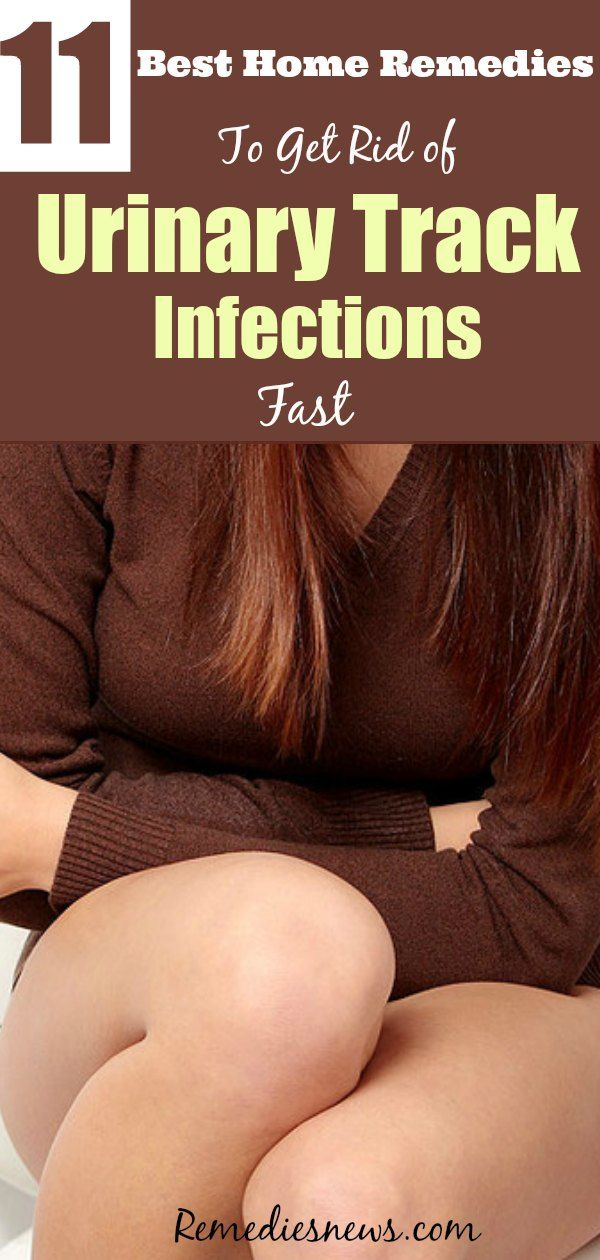 Best home remedies to get rid of Urinary tract infections fast at Home