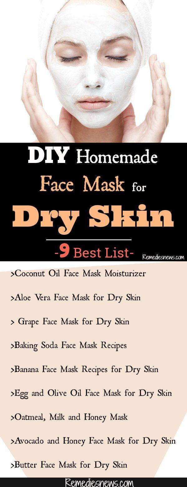 DIY Homemade Face Mask for Dry Skin- 9 Best List