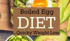 Easy Boiled Egg Diet to Lose 24 Pounds in 14 Days