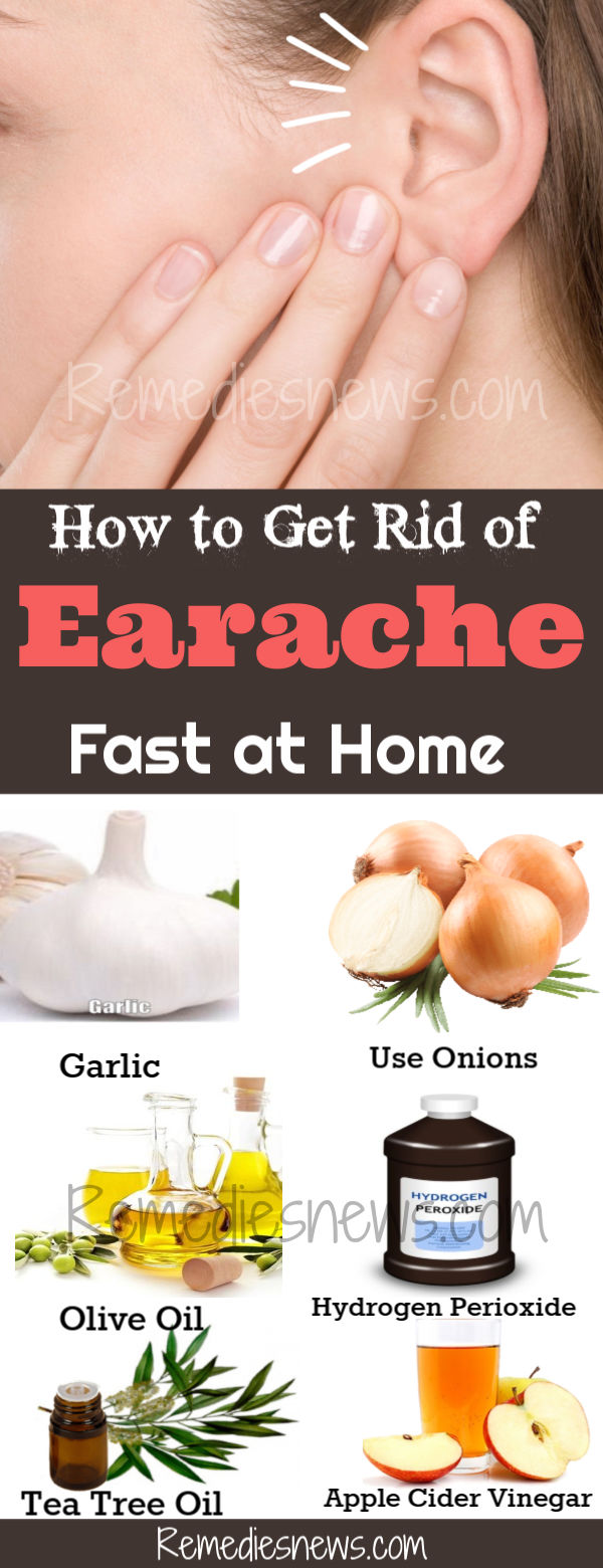 How to Get Rid of Earache-11 Best Remedies for Ear Pain Relief