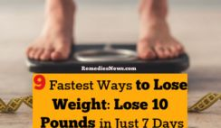 9 Fastest Ways to Lose Weight: Lose 10 Pounds in Just 7 Days at Home