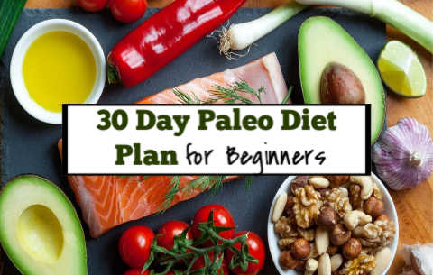 30 day paleo diet plan for beginners to lose weight and