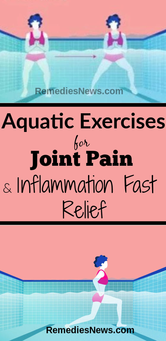 Aquatic Exercises for Joint Pain and Inflammation Fast Relief