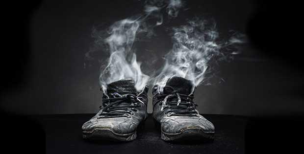Remedio para mal olor de zapatos