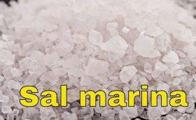 Limpia intestinos con sal marina