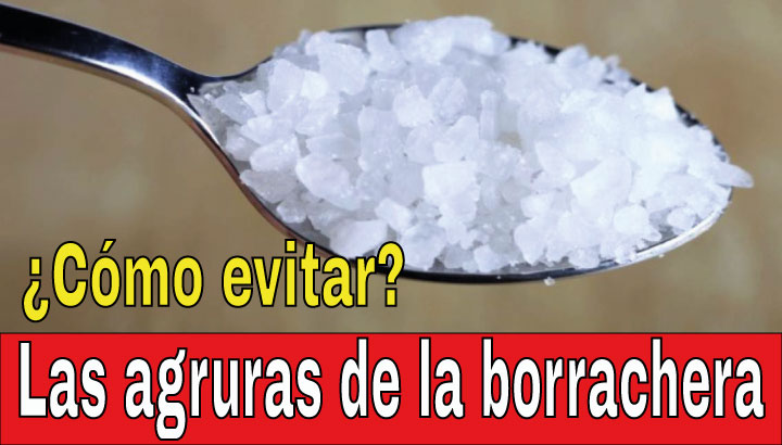 Las agruras de la borrachera