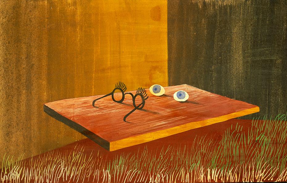 Resultado de imagen de Ojos sobre la mesa