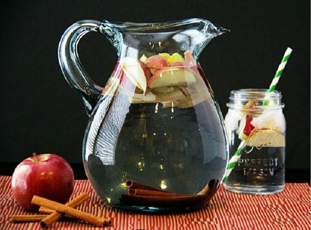 Agua de Manzana con Canela para Bajar de Peso
