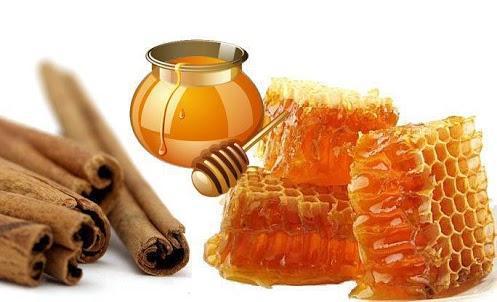 Canela con miel de abeja beneficios