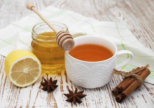 Infusión de Canela, Miel y Limón