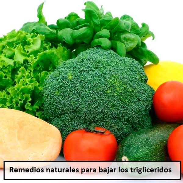 Remedios naturales para bajar los triglicéridos