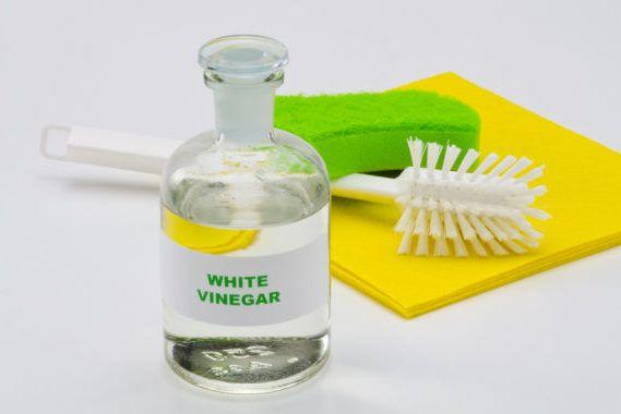 Vinagre blanco para los hongos