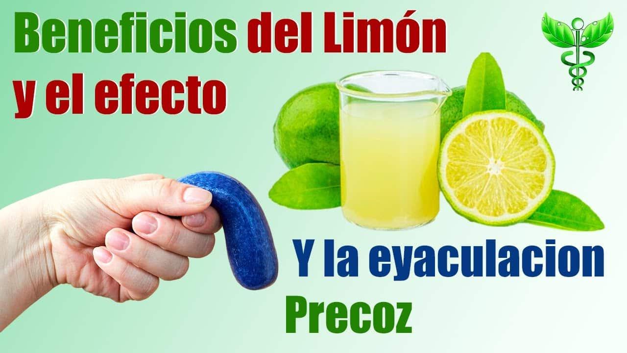 El Limón y el efecto que causa en la salud sexual del miembro del hombre