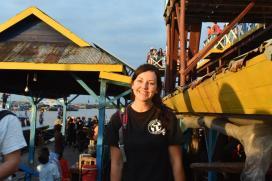 Quinn Colvin in Cambodia