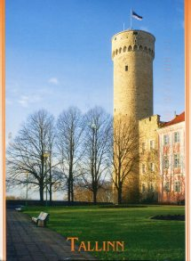 Toompea Castle Remembering Letters And Postcards