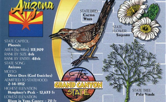 Usa Arizona Remembering Letters And Postcards