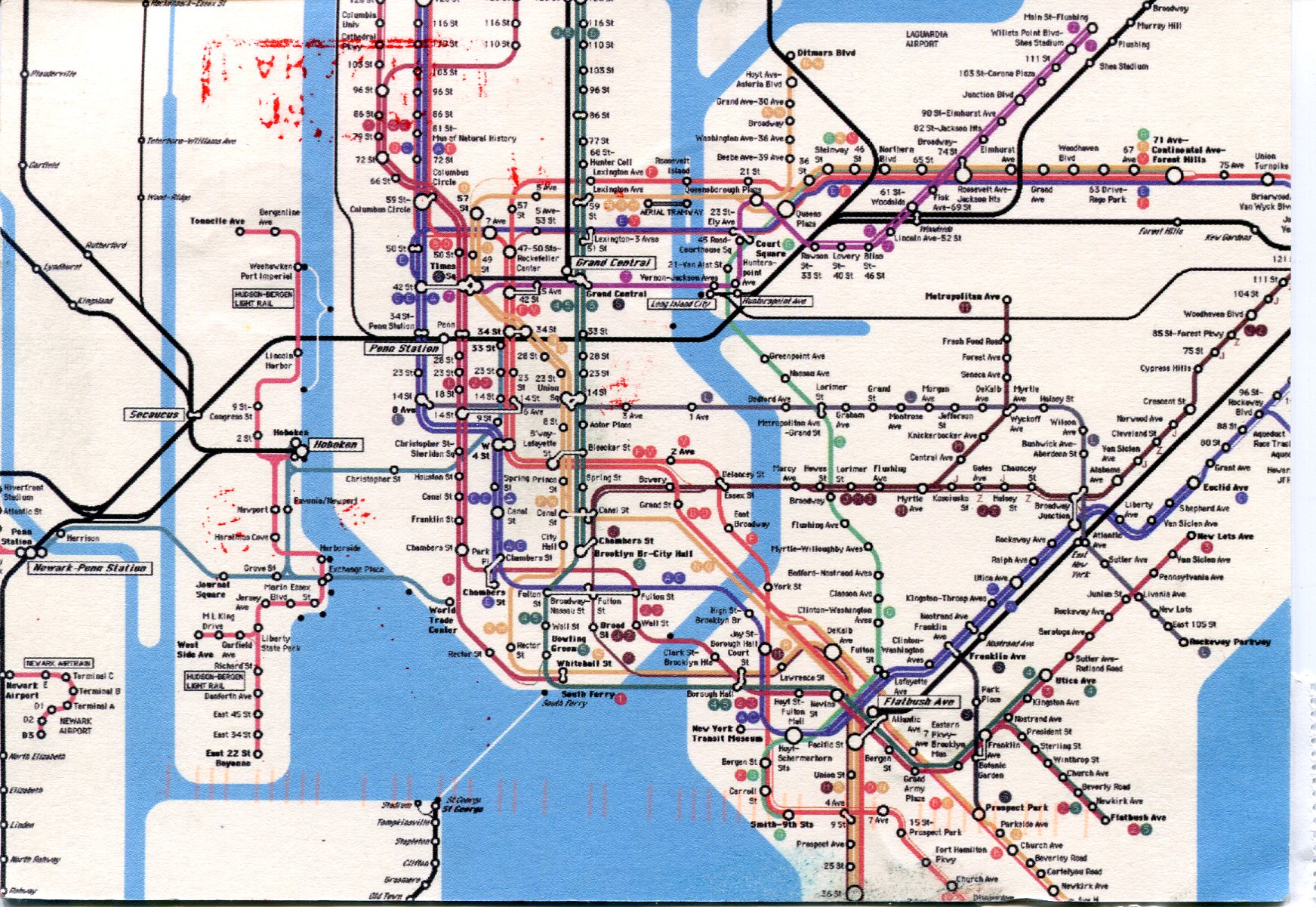 new york city subway diagram how to do a usa  remembering letters and postcards