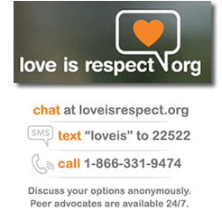 Image result for teen dating violence love is respect hotline