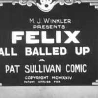 Felix All Balled Up, 1924