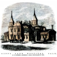 The Opening of Gippsland Hospital, Sale - 20 August 1867