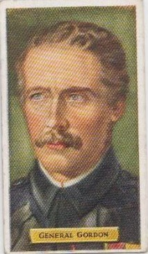 Kensitas Cigarette Card, from the author's private collection.