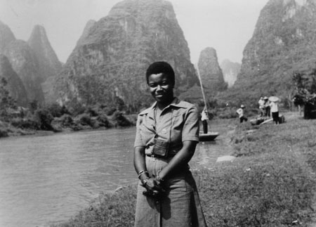 Olive Morris in China