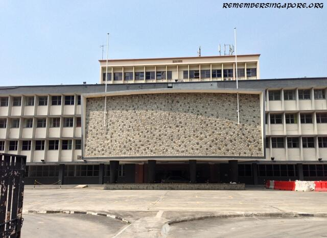 The Old Singapore Polytechnic Campus and New Prince Edward MRT Station  Remember Singapore