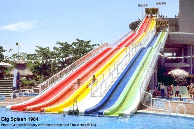 Distant Memories of the Big Splash  Remember Singapore
