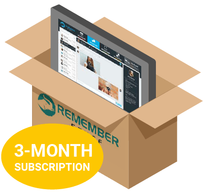 RememberStuff-System-with-3-month-subscription