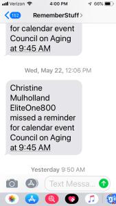 iPhone Reminder