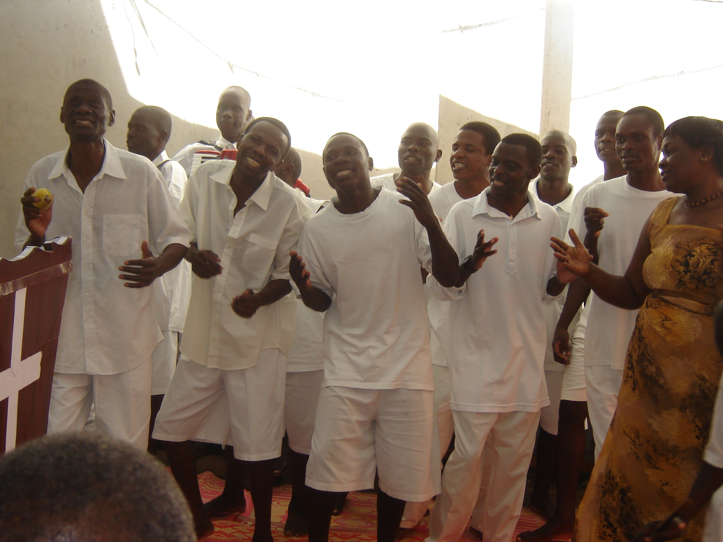 The best Choir on earth! Death Row Inmates