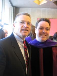 Rob with Gary Haugen, President of IJM