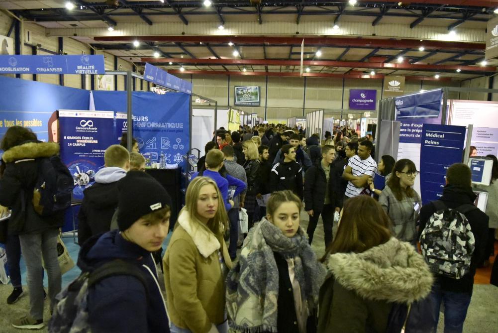Salon Avenir Etudiant  Reims premire tape avant Parcoursup  Journal LUnion abonn