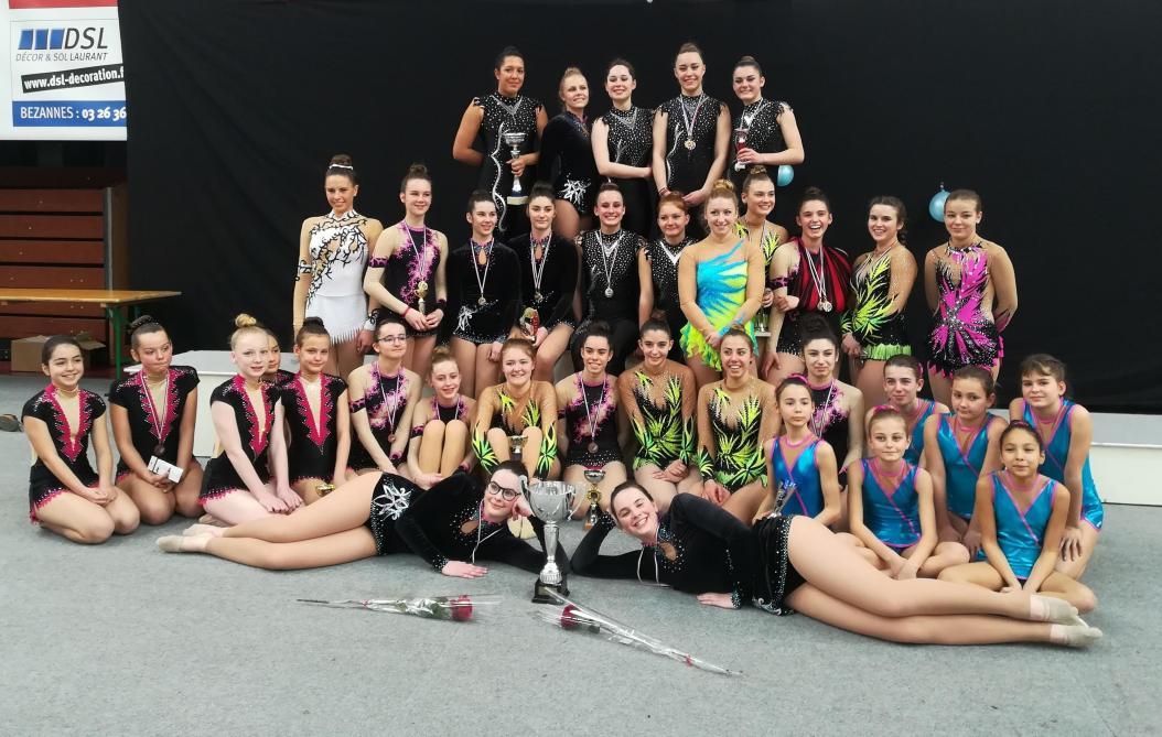 Les rendezvous pour les nationales de gymnastique sont pris  Chlons  Journal LUnion