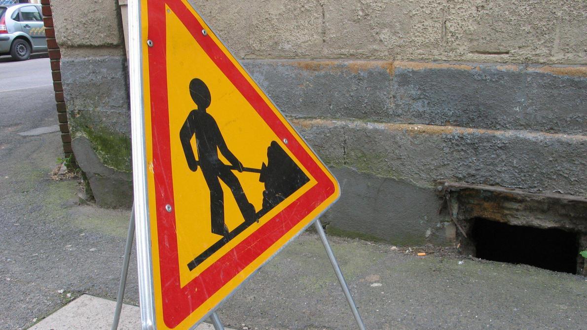 des travaux modifient la circulation a
