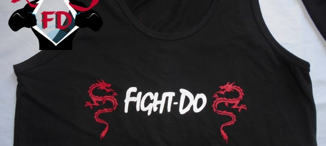 Remeras y musculosas estampadas Fight -Do