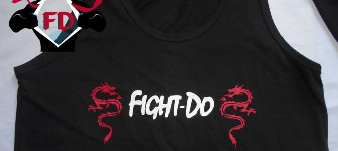 Remeras y musculosas estampadas Fight -Do