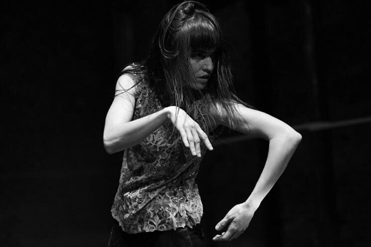 Margarita Molfino bailando