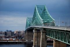 Le pont Jacques Cartier, toujours !