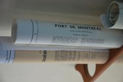 Cartes de navigation à bord du Mrs Chippy (Québec)