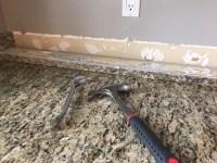 Removing Tile Backsplash How To Remove A Kitchen Tile ...