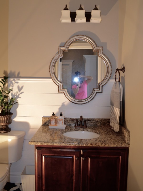 Powder Room Makeover - Remington Avenue