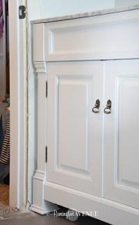 One Room Challenge- Week 3: Bathroom vanity and painted ...